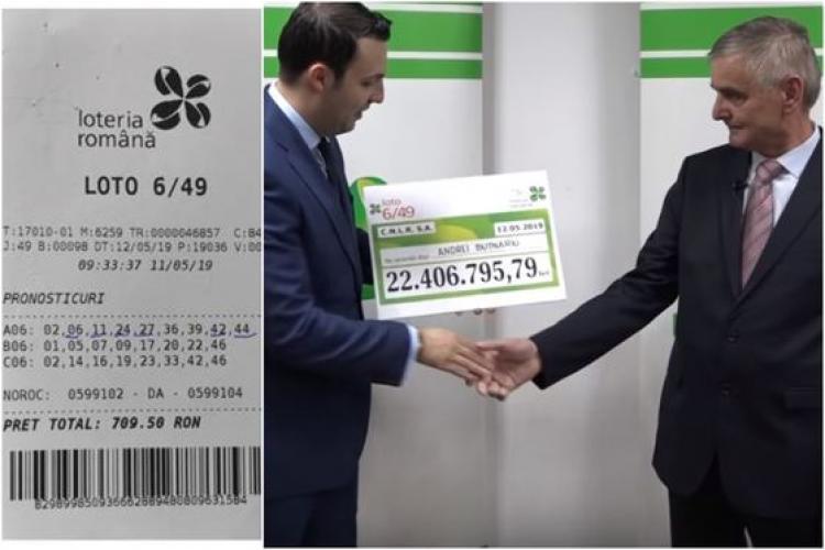 Ce mesaj are pentru români câștigătorul marelui premiu de 4,7 milioane de euro, la Loto 6/49 - VIDEO