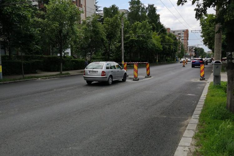 S-a deschis o nouă parcare pe Nicolae Titulescu - FOTO