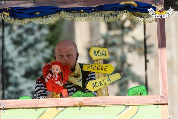 """Teatrul de păpuși """"Puck"""", spectacol gratuit la Iulius Mall"""