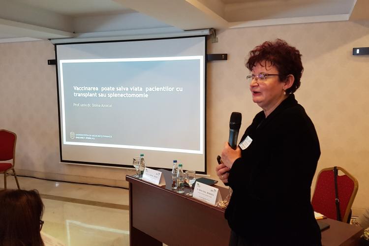 Prof. dr. Doina Azoicăi: Vaccinarea salvează vieți. Este impardonabil ca 200 de oameni să moară de gripă - VIDEO