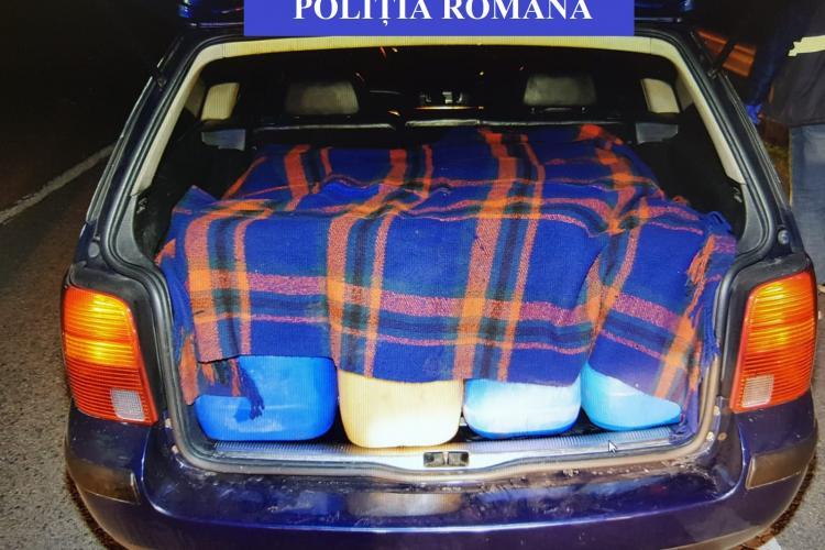 Hoți de motorină, prinși în flagrant de polițiști la Cluj. Au ajuns în spatele gratiilor FOTO