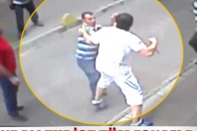 Clujean bătut pe stradă, în cartierul Mărăști. Agresorul e căutat de polițiști
