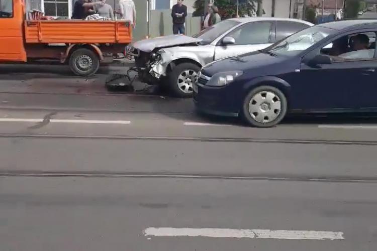 Accident pe strada Oașului. Oamenii i-au cerut primarului soluții, dar degeaba - VIDEO
