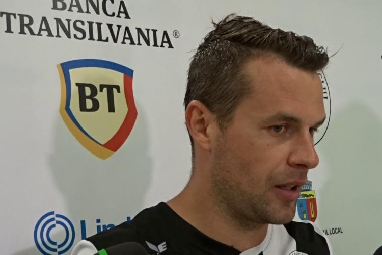 Academica Clinceni - FC Universitatea Cluj 0-0. Goga nu poate face minuni. U Cluj e tot pe locul trei