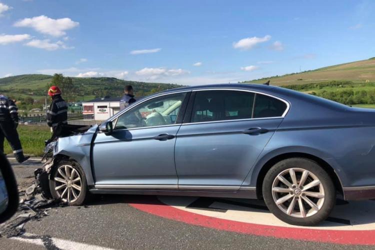 Accident cu o victima la Vâlcele, cauzat de un șofer care nu a acordat prioritate FOTO