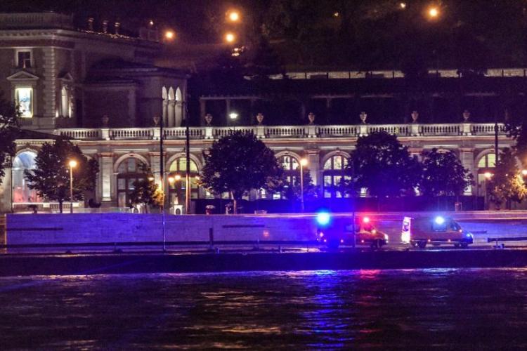 Vapor scufundat la Budapesta. Șapte morţi şi zeci de turiști dispăruţi - VIDEO
