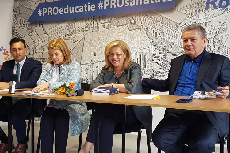 Corina Crețu la Cluj: Locul Pro România este alături de grupul social-democraților - VIDEO