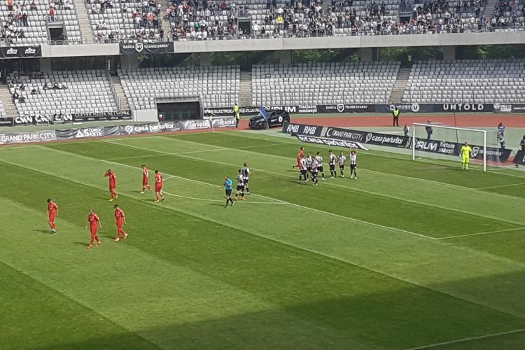 Când se va juca meciul barajul U Cluj  - Hermannstadt. Harababura a fost rezolvată
