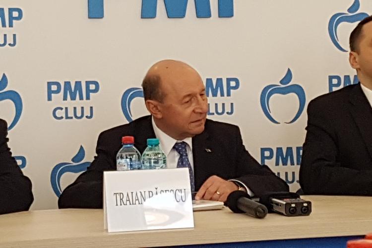 Basescu la Cluj: Emil Boc, candidat PNL si PMP