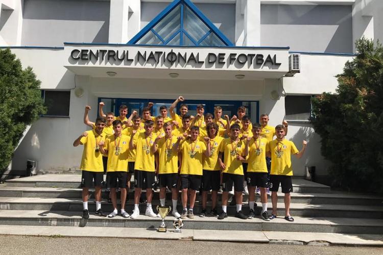 LPS Cluj-Napoca Campioană la U 17! Am învins Academica Clinceni în finală - FOTO