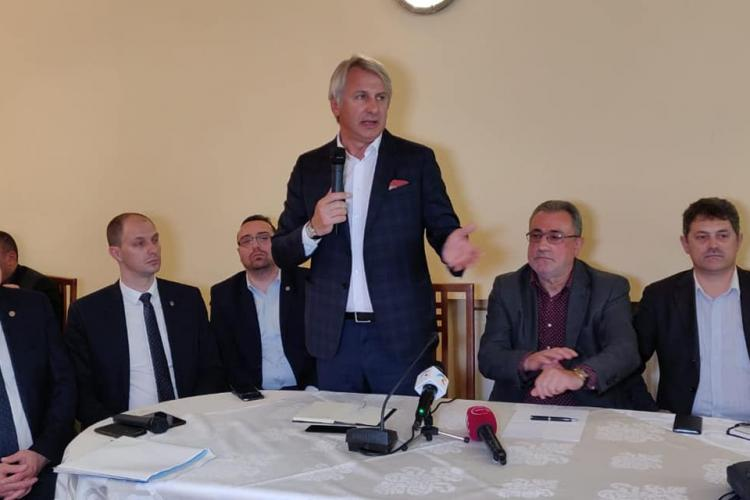Întâlnire a ministrului Eugen Teodorovici cu oamenii de afaceri din Cluj