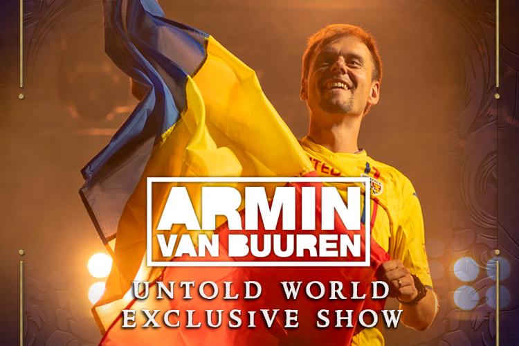 """Armin Van Buuren a creat un show EXCLUSIV pentru UNTOLD! Ce surprize a pregătit artistul în show-ul """"ARMIN UNTOLD"""""""