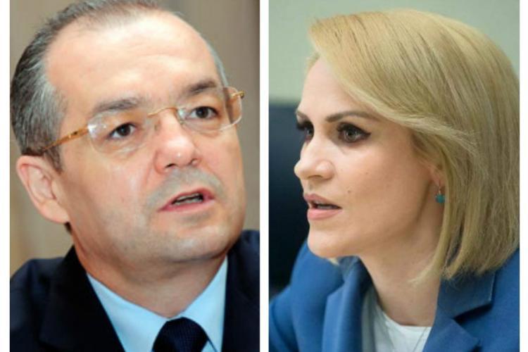 Ce spune Gabriela Firea despre Boc și Primăria Cluj-Napoca: Cineva îi face un deserviciu