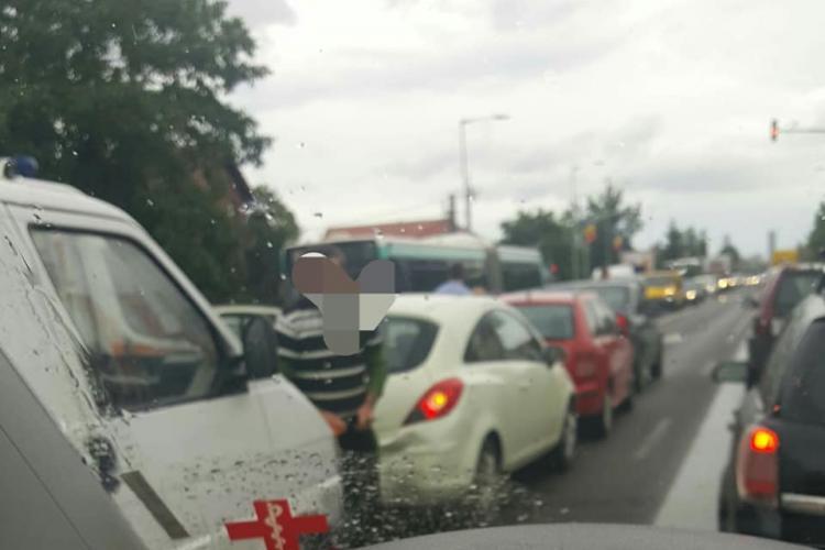 Accident în lanț la Oncos, în Florești. Ce s-a întâmplat - FOTO
