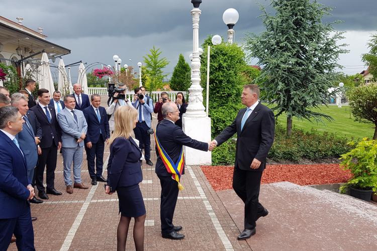 Iohannis la întâlnirea cu membrii PNL de la Cluj: Nu mă voi îndepărta vreodată de PNL