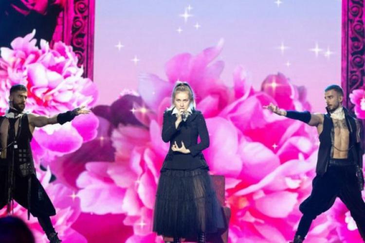 România a ratat calificarea în finala de la Eurovision. Cum a cântat Ester Peony