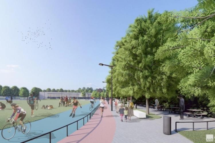 """Clujenii spun că e prea mult """"beton"""" în viitoarea bază """"La Terenuri"""", din Mănăștur. Nimeni nu răspunde - VIDEO"""