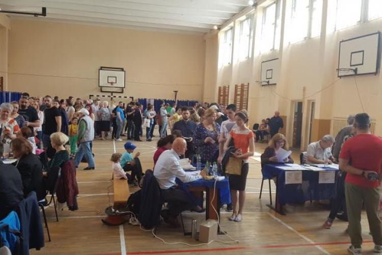 Clujul e în top, în privința prezenței la VOT. Cifrele UIMESC