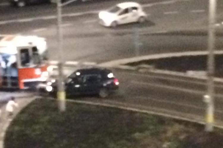 Accident Strada Primaverii. Șoferul a fugit de la locul accidentului - FOTO