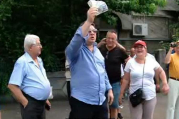 Protest la Palatul Cotroceni pentru eliberarea lui Dragnea. Cce scandează fanii fostului lider PSD VIDEO