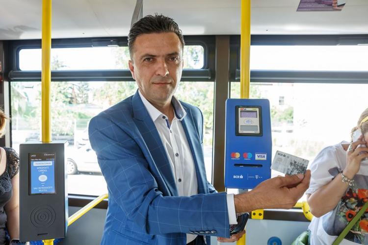 CTP Cluj introduce plata contactless cu cardul, direct în mijloacele de transport în comun. De când va fi disponibil serviciul
