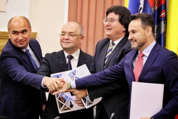 Clujenii plătesc 160.000 pentru angajații din Alianța Vestului. Ce promite iarăși Emil Boc