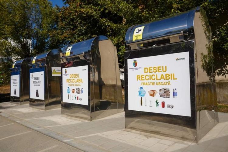 De luna viitoare se colectează selectiv deșeurile la Cluj! Cum se va desfășura
