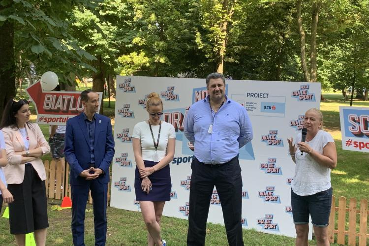 """COSR a prezentat la Cluj inițiativa """"Noua oră de sport"""", o inițiativă sprijinită de BCR FOTO/VIDEO"""