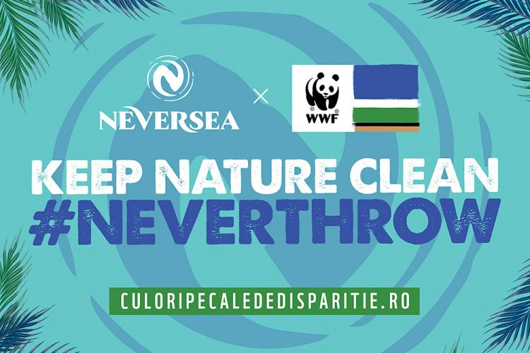 "NEVERSEA, primul brand ambasador al campaniei ""Culori pe cale de dispariție"", al World Wide Fund for Nature"