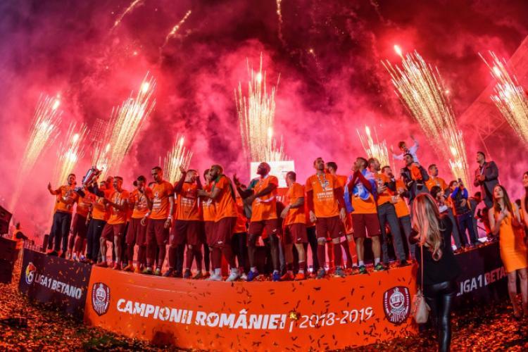 CFR Cluj nu a respectat fair-play-ul financiar și a fost amendată de UEFA cu 200.000 de euro