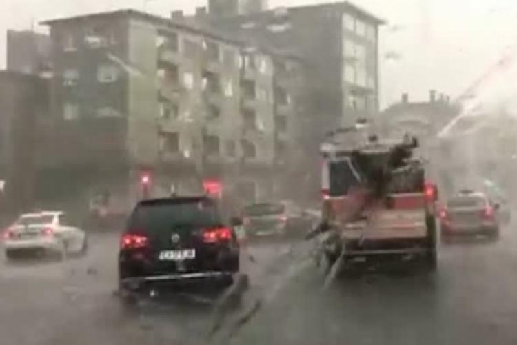 COD ROȘU cu GRINDINĂ de 5 centimetri la Cluj. Zonele vizate și ce spun meteorologii