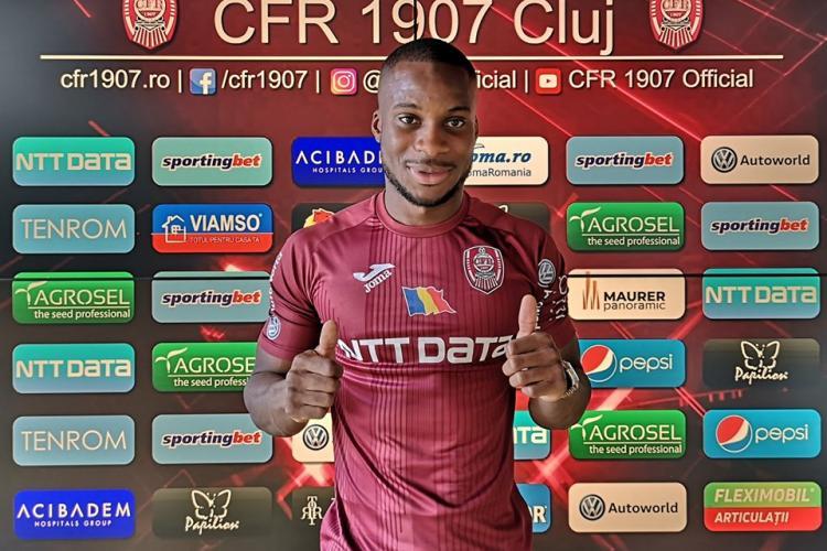 Yacouba Syllam, transferat la CFR Cluj din Norvegia