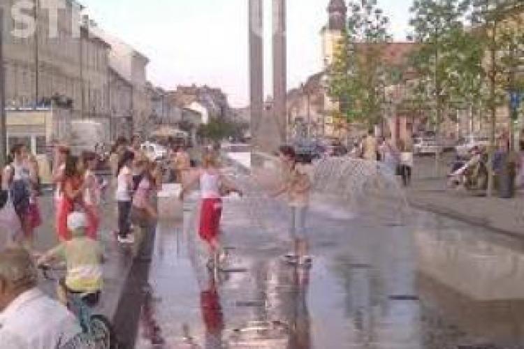 Vreme caniculară și ploi la Cluj, la început de săptămână