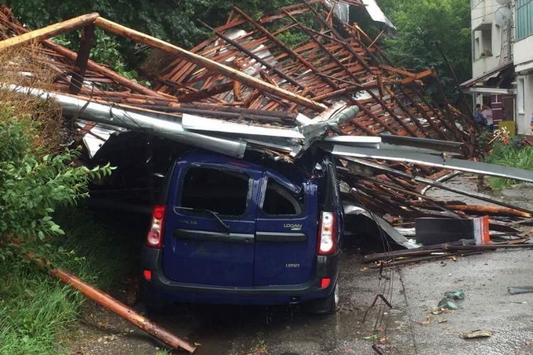 METEO Cluj: E alertă de furtuni și grindină în județul Cluj