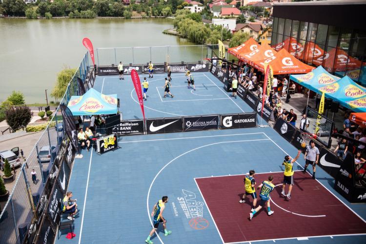 Competiție de streetball, în week-end, la Iulius Mall Cluj