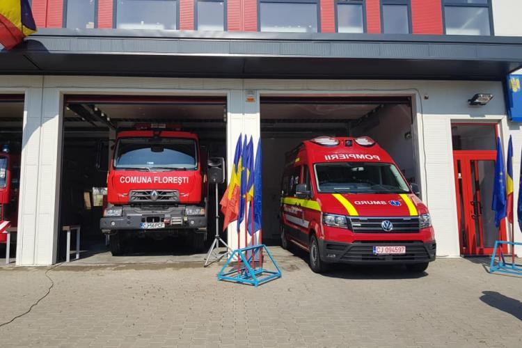 Primăria Florești a donat două autospeciale ISU Florești - FOTO