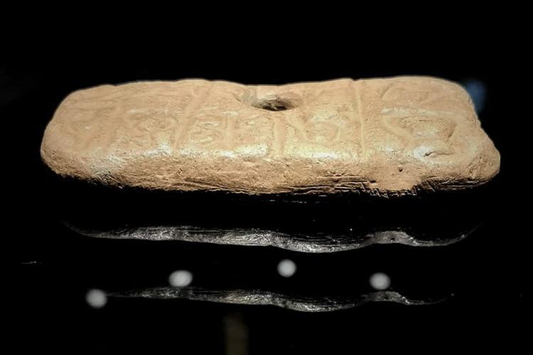 Tăblițele de la Tărtăria, expuse la Muzeul National de Istorie a Transilvaniei din Cluj-Napoca