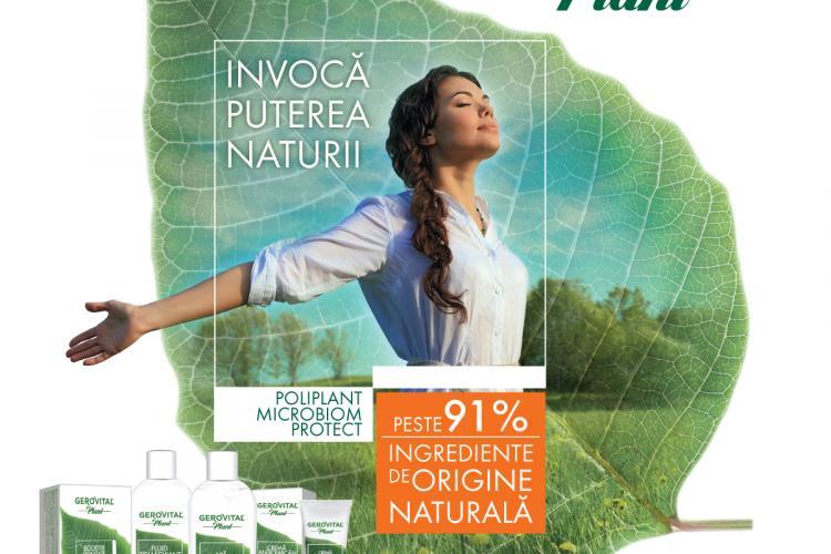 Farmec relansează Gerovital Plant – noua gamă are ingrediente de origine naturală și oferă protecție naturală microbiană