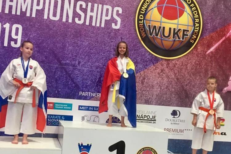 Sportivii din Florești, șapte medalii de aur la Campionatul Mondial de karate WUKF