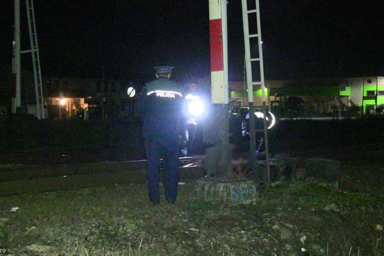 CLUJ: Accident feroviar mortal! Un bărbat a fost spulberat de tren