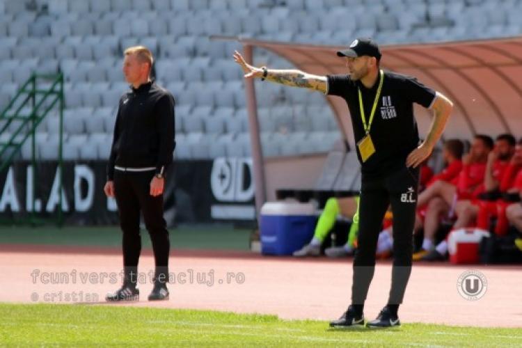 Lobonț a plecat de la U Cluj