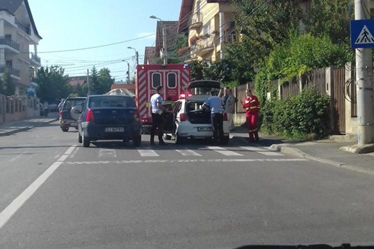 Femeie lovită de mașină pe trecerea de pietoni, în cartierul Zorilor
