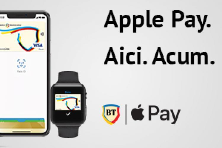 E OFICIAL! Banca Transilvania a introdus Apple Pay în România