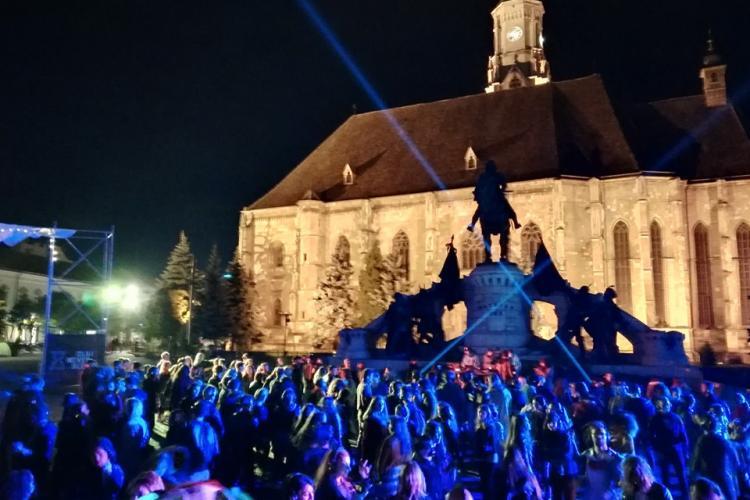 Cluj Never Sleeps are loc în acest weekend, în centrul orașului. Ce evenimente sunt pregătite pentru clujeni