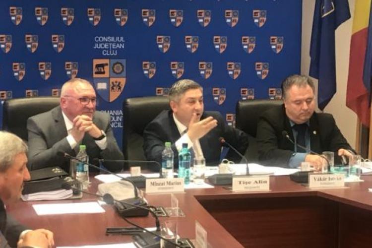 Consiliul de Administrație de la Aeroportul Cluj, suspendat. Tișe a fost învins în instanță