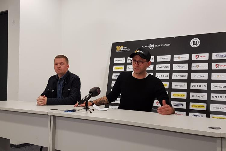 Bogdan Lobonț, demis de U Cluj! Cine vine al echipă