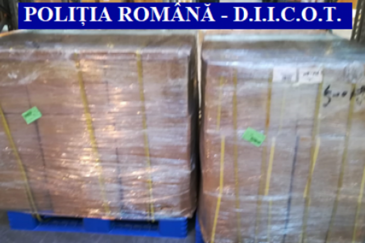 Operațiune la nivel european pentru destructurarea unei grupări de traficanți de droguri! Au fost făcute percheziții la Cluj și Dej