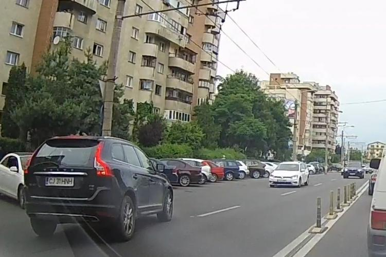 """Cluj: """"Românească"""" la intersecția străzilor Teodor Mihali și Venus - VIDEO"""
