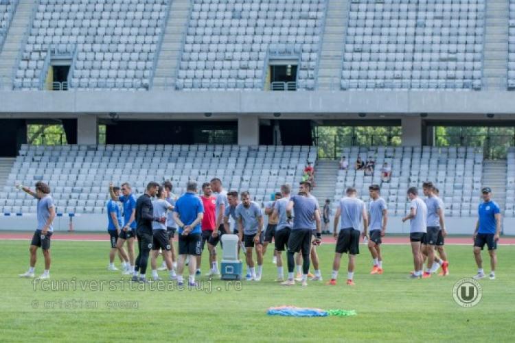 U Cluj s-a reunit! Dulca are un portar portughez și trei jucători reveniți la echipă