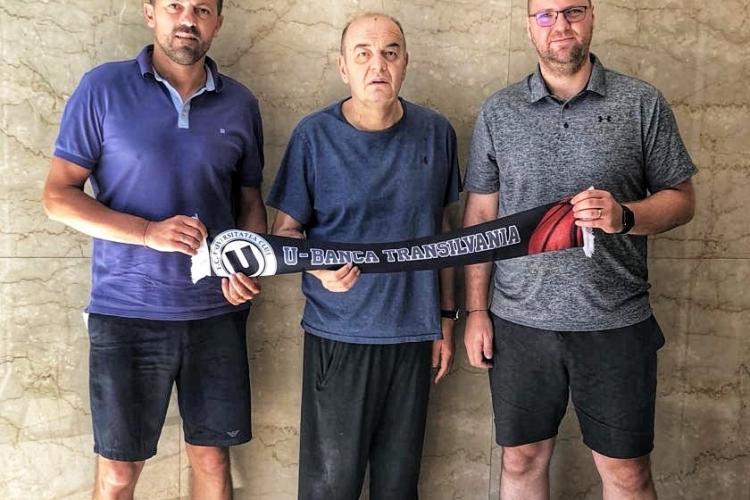 Legenda baschetului European, Dusko Vujosevic va antrena U-Banca Transilvania